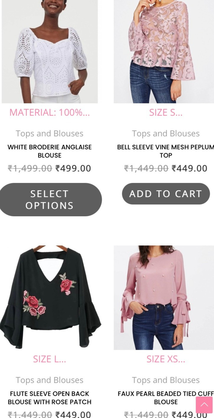 Tops from Cameo
