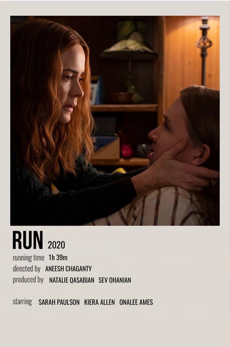 Run movie polaroid