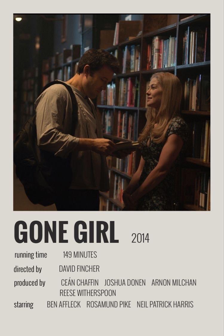 Gone Girl Movie Polaroid