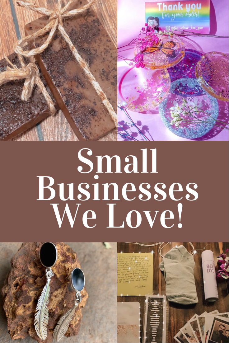 Collage of Products | Small Businesses We Love | Ayesha Joshi Product