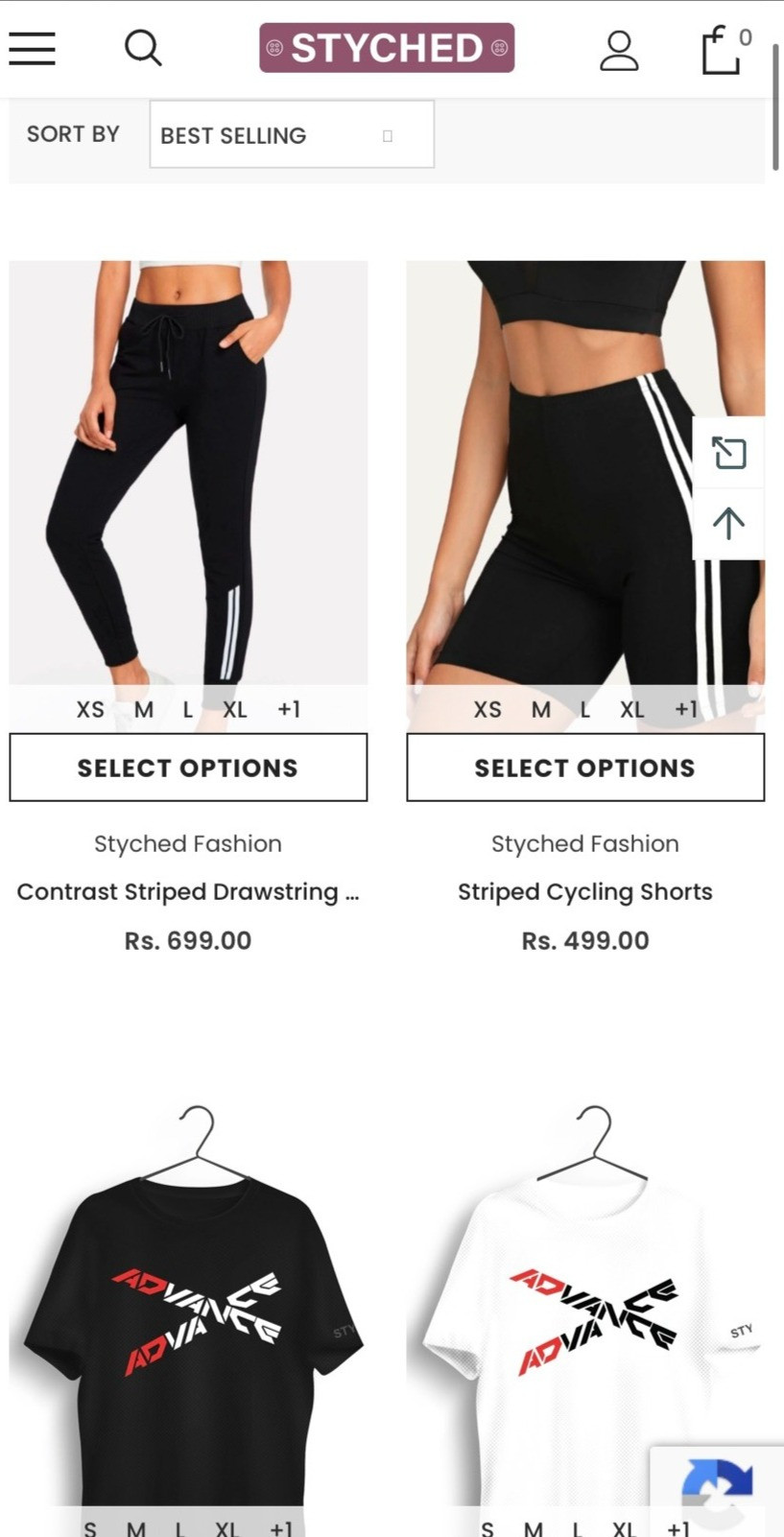 Active- Wear from Styched
