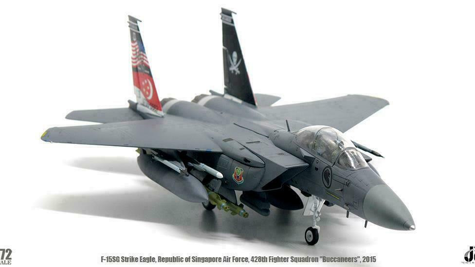Republic of Singapore Air Force F-15SG Strike Eagle 428th Fighter Squadron
