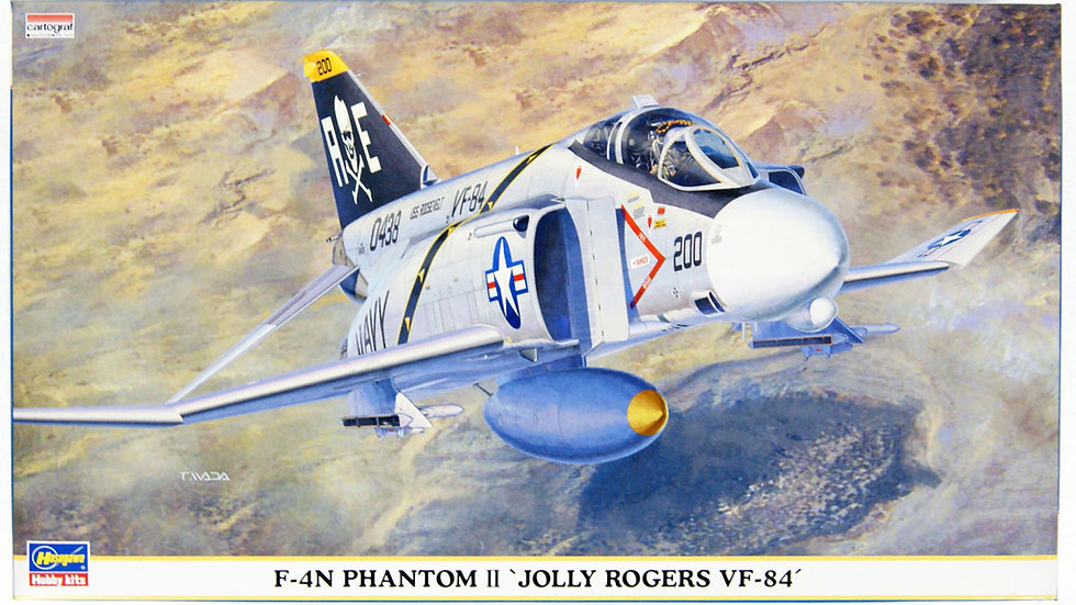 "Hasegawa 1/72 F-4N VF-48 ""Jolly Rogers"""