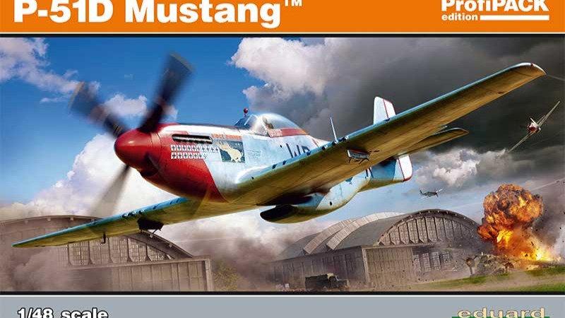 Eduard 1/48 P-51D Mustang Profipack