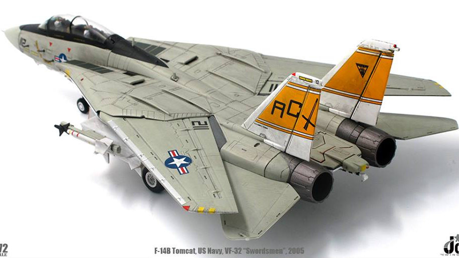 JC Wings 1/72 F-14B TOMCAT VF-32 SWORDSMEN USS HARRY S.TURMAN (CVN-75) 2005