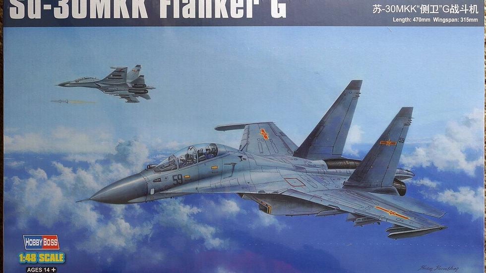 Hobbyboss 1:48 - Su-30MKK Flanker-G