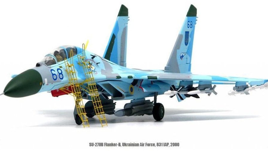 JC Wings SU-27UB Flanker-C 831st IAP Ukrainian Air Force