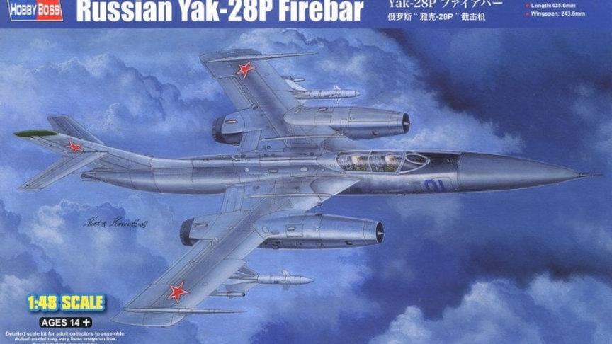 Hobbyboss 1:48 - Russian Yak-28P Firebar