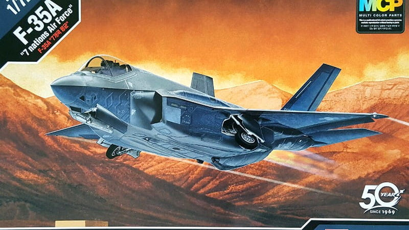 Academy 1:72 - F-35A Seven Nation AF