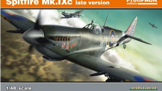 Eduard 1/48 8281 Spitfire Mk. IXc late version - Profipack Edition