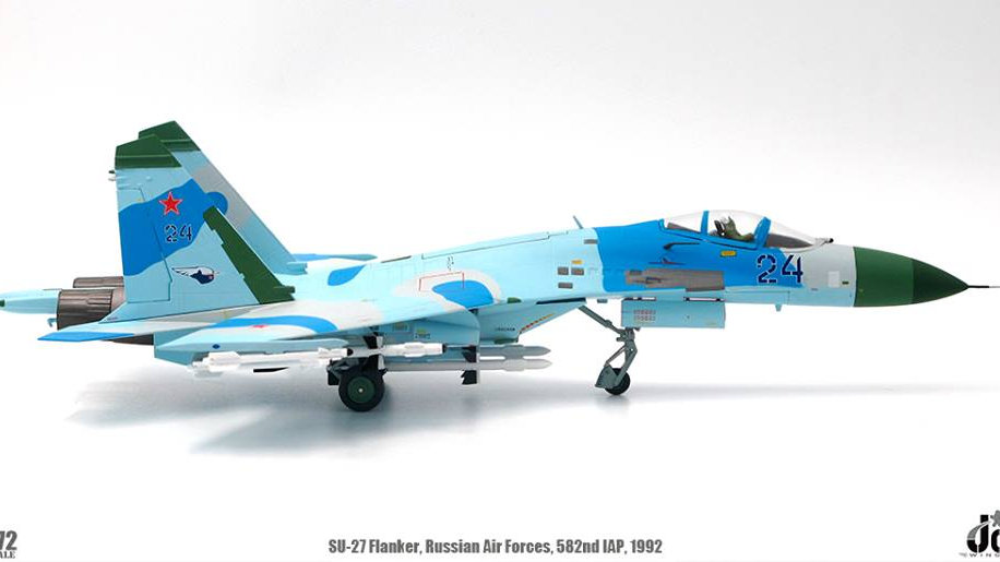 J C Wings Sukhoi SU-27 Flanker Russian Air Forces 582nd IAP Poland 1992