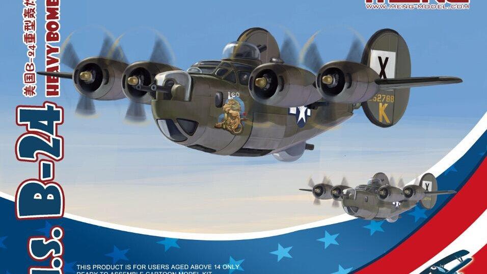 Meng Model Kids - U.S B-24 Heavy Bomber