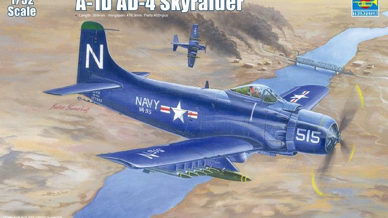 Trumpeter 1/32 A-1D AD-4 Skyraider