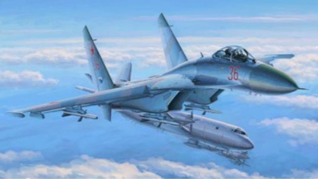 Hobby Boss 1/48 Russian Su-27 Flanker Early Version