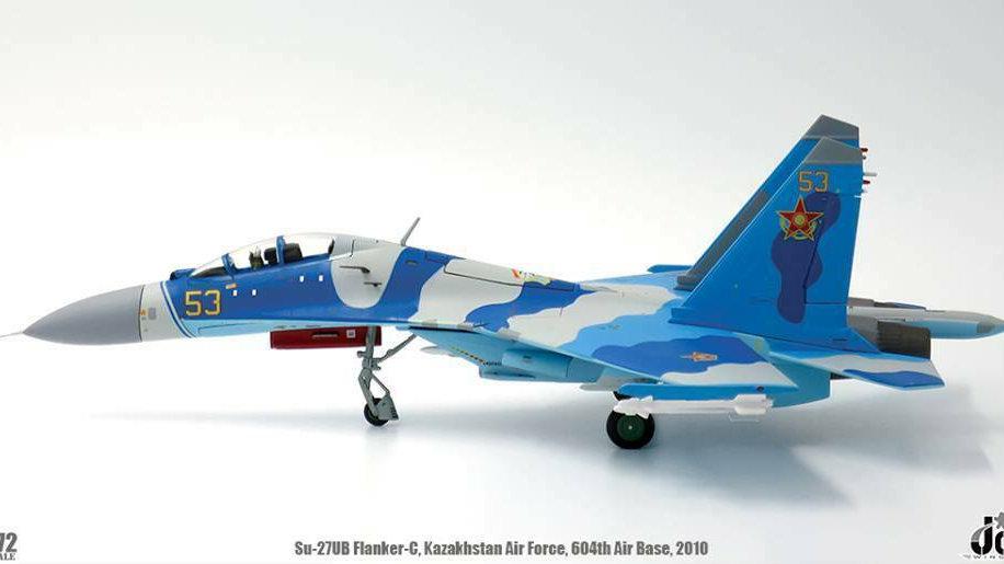 JC Wings 1/72 SU-27UB Flanker-C Kazakhstan Air Force 604th Air Base