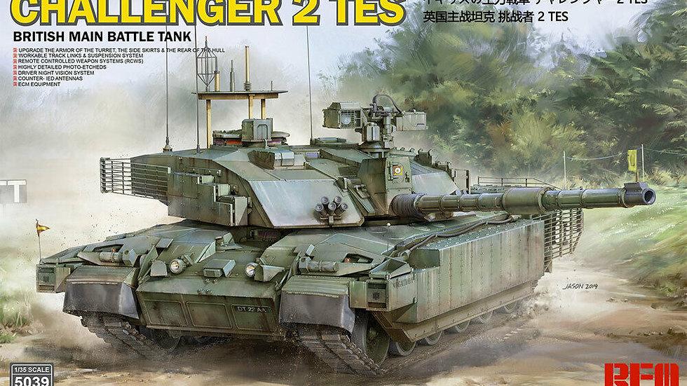 Ryefield Models 5039 British MBT Challenger 2 TES 1:35 Plastic Model Tank Kit