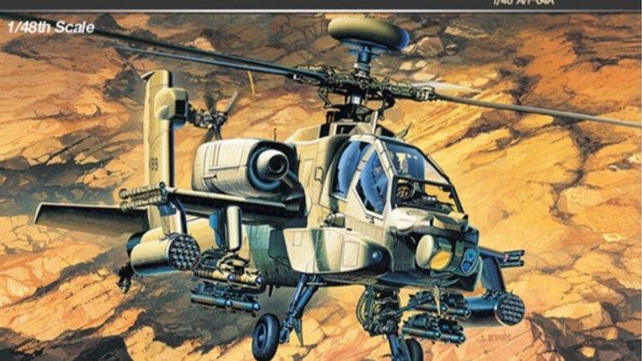 Academy 1/48 AH-64A Longbow Apache
