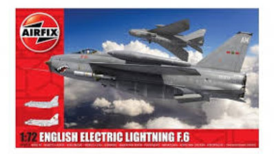 Airfix 1/72 English Electric Lightning F6