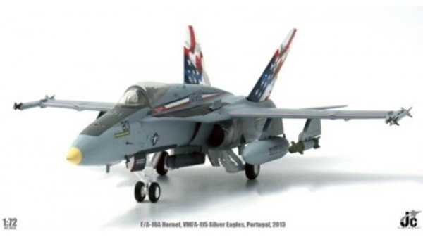JC Wings 1/72 F/A-18F SUPER HORNET VFA-115 SILVER EAGLES LAJES PORTUGAL 2013
