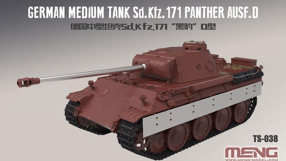 Meng Model 1:35 - Sd.Kfz.171 Panther Ausf. D