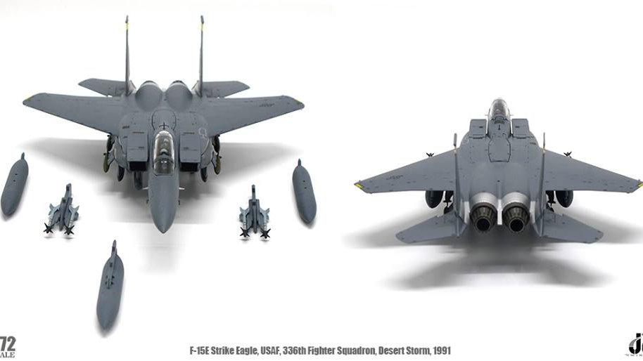 JC Wings 1/72 F-15E STRIKE EAGLE USAF 336TH FIGHTER SQUADRON DESERT STORM 1