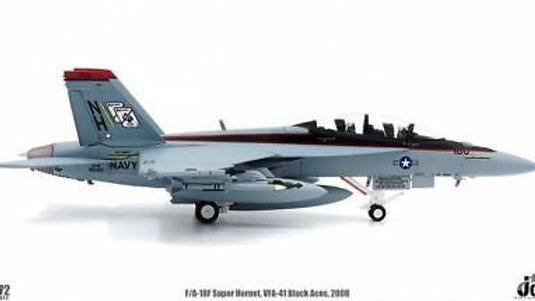 1/72 F/A-18F SUPER HORNET VFA-41 BLACK ACES USS NIMITZ CVN-68 2008
