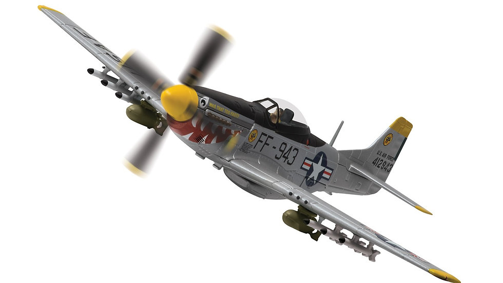 "North American F-51D Mustang ""Was that to Fast"" South Korea 1951"