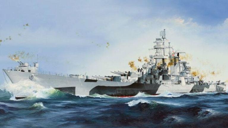 Hobby Boss 1/350 USS Alaska CB-1