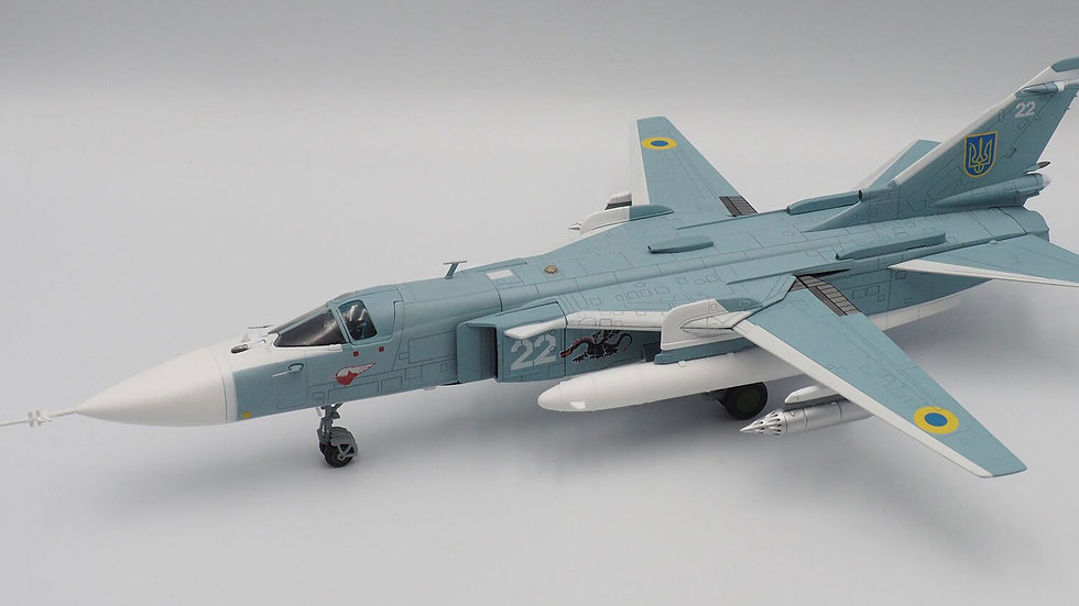 Calibre Wings 1/72 SU-24MK Fencer Russian Ukrainian Air Force