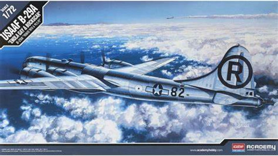 Academy 1/72  B-29A 'Enola Gay' and 'Bockscar'