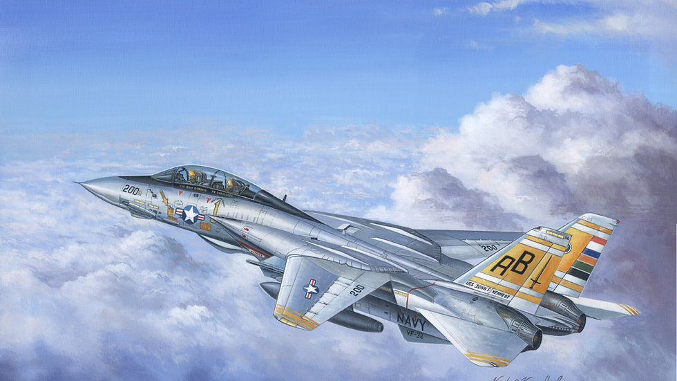 Hobbyboss 1:48 - F-14A Tomcat