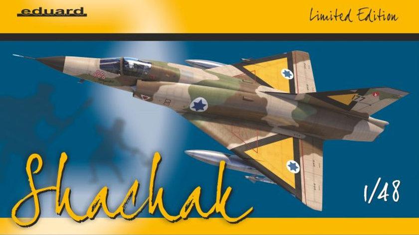 Eduard 1/48 Shachak Mirage IIIc