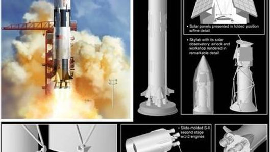 Dragon 1/72 Saturn VW/Skylab
