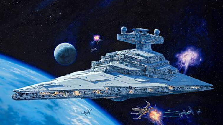 Revell Star Wars 1:2700 Imperial Star Destroyer