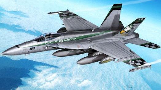 Academy 1:72 - USN F/A-18E VFA-195 Chippy Ho