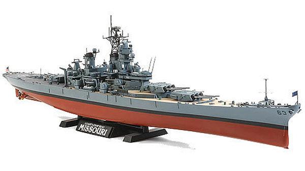 TAMIYA Missouri (C 1991) 1:350 Ship Model Kit