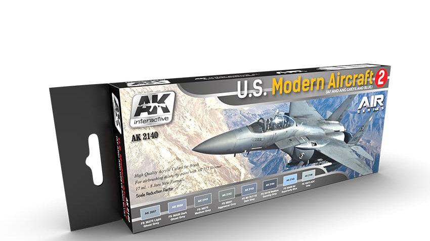 AK Interactive US Modern Aircraft 2