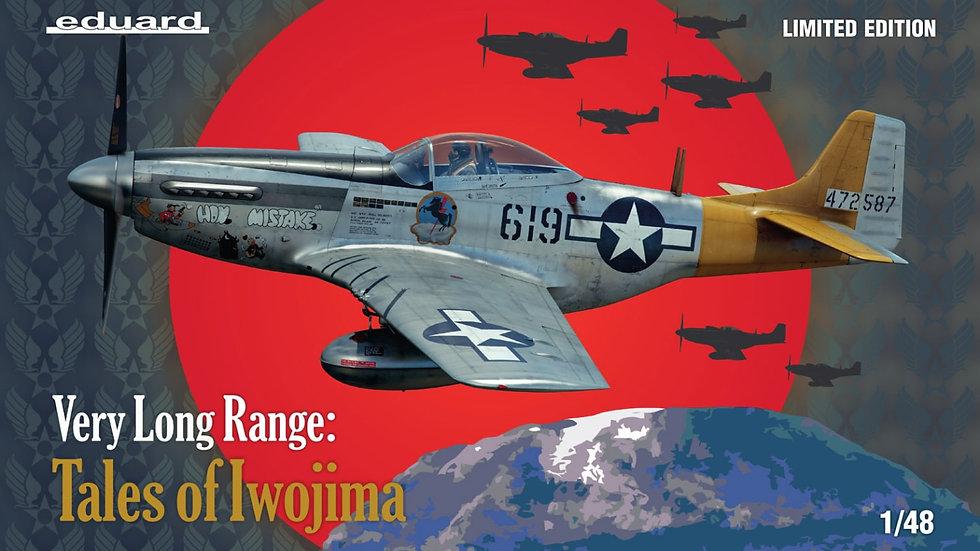 Eduard 1/48 North American P-51D Mustang Very long range: Tales of IwoJima