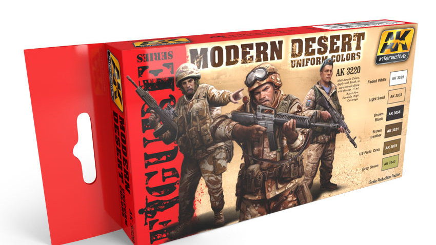 AK Interactive Set - Modern Desert Colours