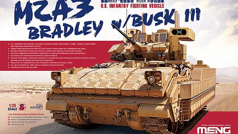 Meng Model 1:35 - US M2a3 Bradley w/ Bsk III IFV (Full Interior)