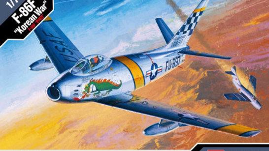 "Academy 1/72 F-86F ""Korean War"""