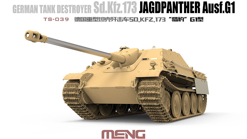 Meng Model 1:35 - Sd.Kfz.173 Jagdpanther Ausf.G1