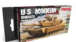 MENG US Modern Vehicles Set