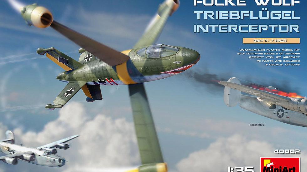 Miniart 1:35 - Focke-Wulf Triebflugel Interceptor