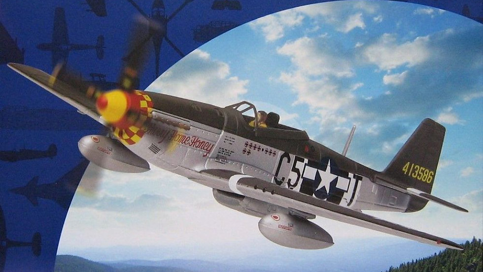 """Corgi North American P-51D Mustang """"Hurry Home Honey"""" 357th Fighter Group"""