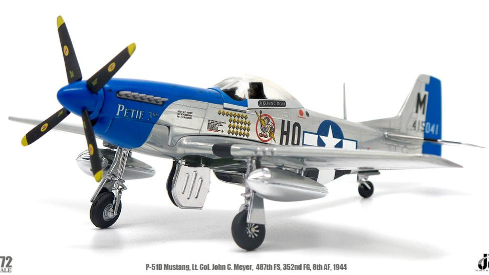 JC Wings 1/72 P-51D Mustang 487th Fighter Squadron