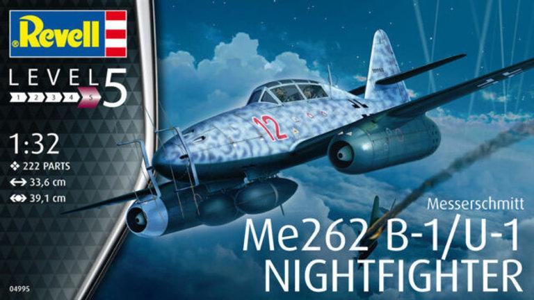 Revell 1/32 Model  Messerschmitt Me262B-1 Nightfighter New Tool