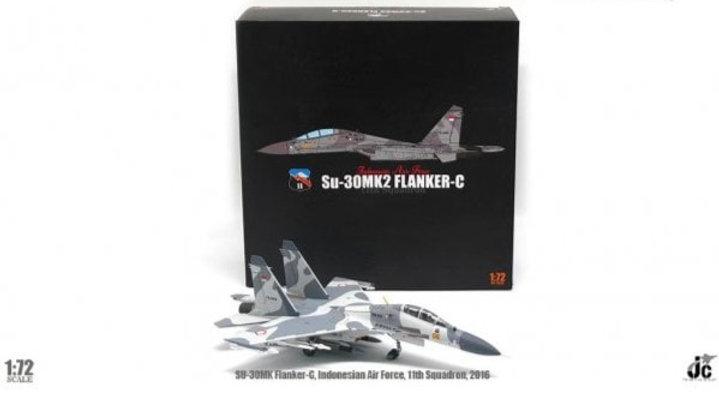 JC Wings 1/72 Su-30MK2 Flanker-C Indonesian Air Force