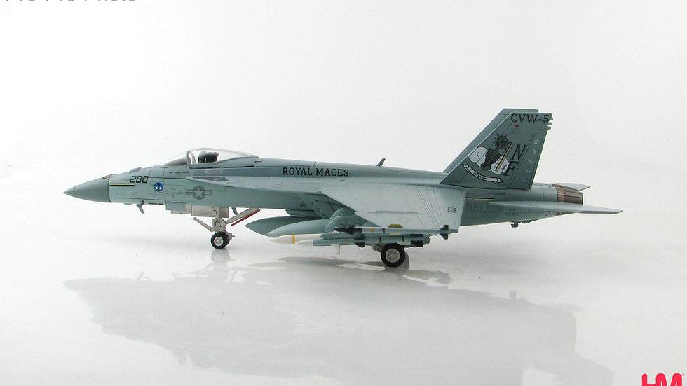 "Hobby Master 1/72 F/A-18E Super Hornet VFA_27 ""Royal Maces"""