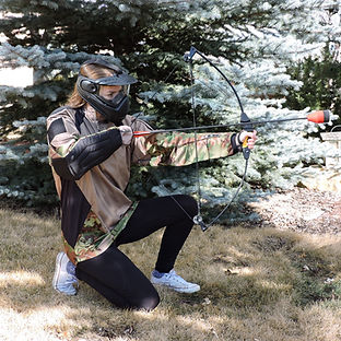 Archery tag Calgary, Alberta Canada, outdoor entertainment venues, things to do Calgary, archery targets, kids things to do